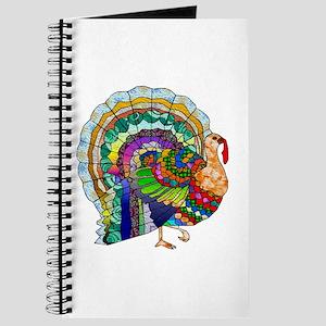 Patchwork Thanksgiving Turkey Journal