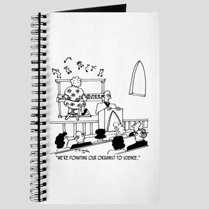 Donating Organist to Science Journal