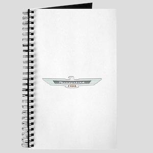 Ford Thunderbird Emblem Chrome Journal