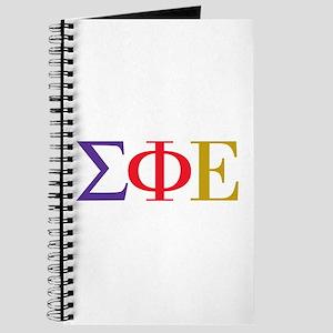 Sigma Phi Epsilon Initials Journal