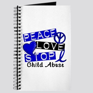 Peace Love Stop Child Abuse 1 Journal