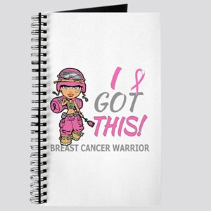 Combat Girl 2 Breast Cancer Pink Journal
