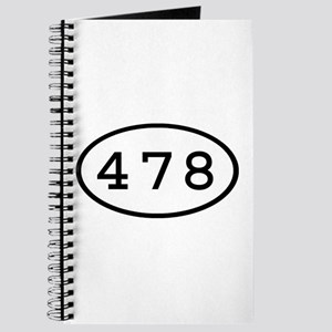 478 Oval Journal