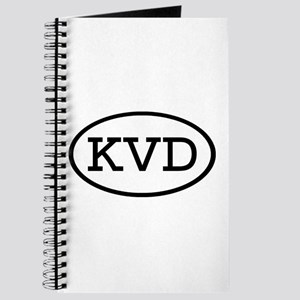KVD Oval Journal