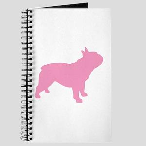 Pink French Bulldog Journal