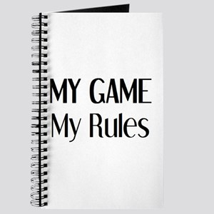 my game rules Journal