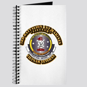 SSI - 3rd Battalion - 1st Marines USMC VN Journal