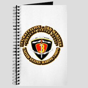 SSI - 1St Battalion - 3Rd Marines With Text USMC J