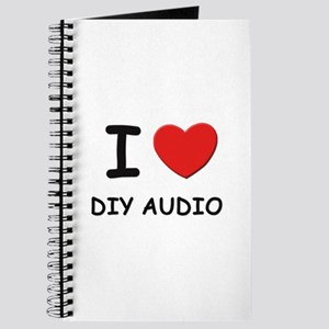 I love diy audio Journal