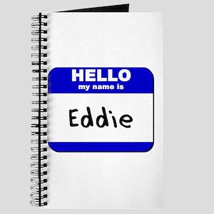 hello my name is eddie Journal