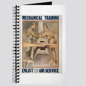 Air Service WWI Poster Journal