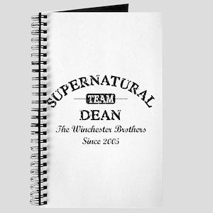 SUPERNATURAL Team DEAN black Journal