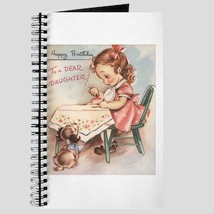 Happy Birthday Daughter Journal