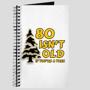 80 Isnt old Birthday Journal