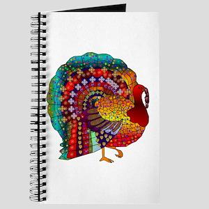 Thanksgiving Jeweled Turkey Journal