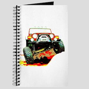 Jeep rock crawling Journal
