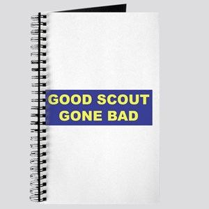 Good Scout Gone Bad (Blue) Journal