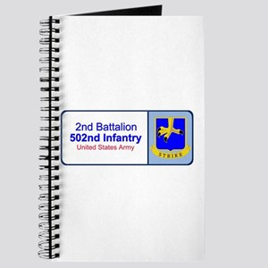 2nd Battalion 502nd Infantry Journal