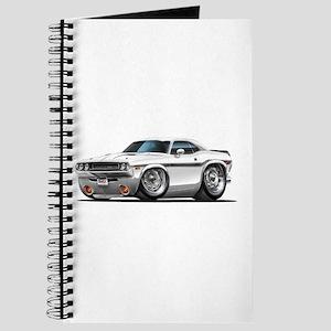 Challenger White Car Journal