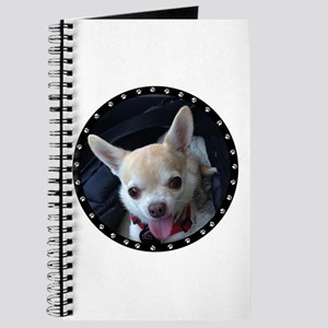 Personalized Paw Print Journal