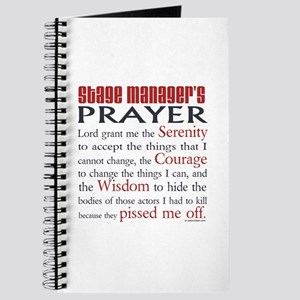 Stage Manager's Prayer Journal