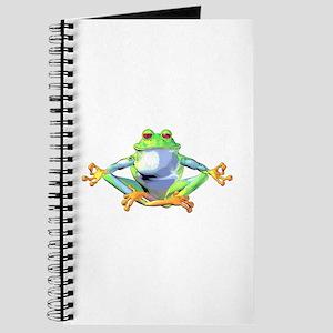 Meditating Frog Journal