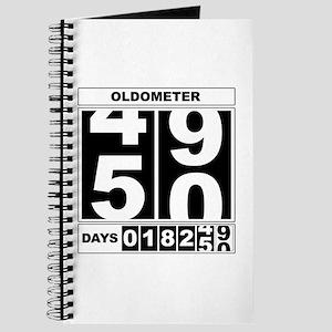 50th Birthday Oldometer Journal