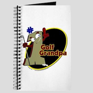 Number 1 Golf Dad Journal