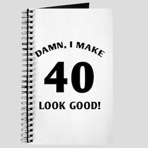 40 Yr Old Gag Gift Journal