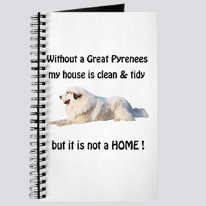 Great Pyrenees Journal Clean and Tidy