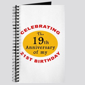 Celebrating 40th Birthday Journal