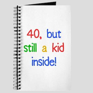 Fun 40th Birthday Humor Journal