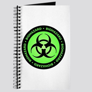 Green & Black Biohazard Journal