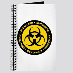 Yellow & Black Biohazard Journal