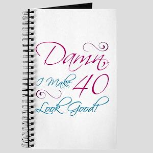 40th Birthday Humor Journal