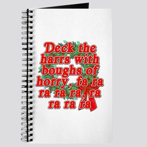 Deck The Harrs - Christmas Story Chinese Journal