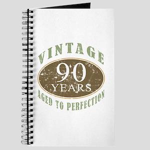 Vintage 90th Birthday Journal
