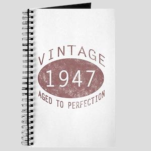 1947 Vintage (Red) Journal