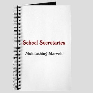 School Sec. Multitasking Marvels Journal