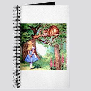 Alice and the Cheshire Cat Journal