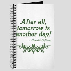 Scarlett O'Hara Quote Tomorrow Journal