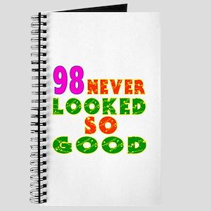 98 Birthday Designs Journal