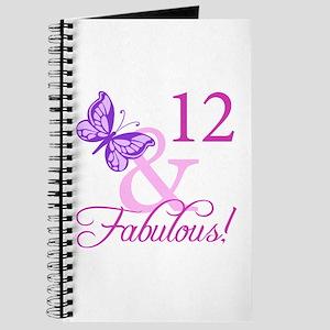 Fabulous 12th Birthday Journal