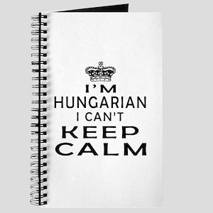 I Am Hungarian I Can Not Keep Calm Journal