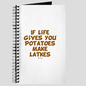 Make Latkes Chanukah Journal