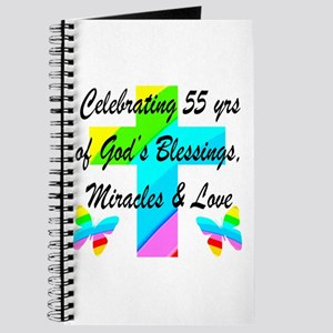BLESSED 55 YR OLD Journal