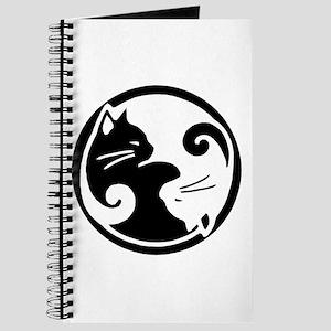 Yin Yang Cat Journal