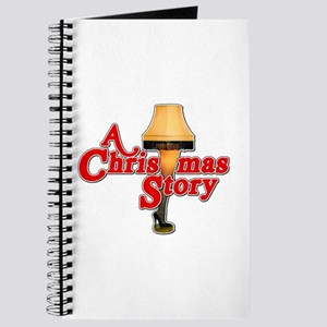 A Christmas Story Movie Lamp Journal