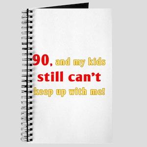 Witty 90th Birthday Journal