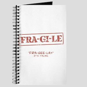 FRA-GI-LE [A Christmas Story] Journal